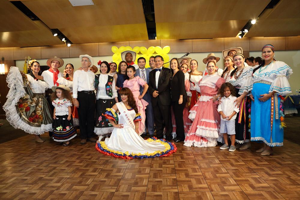 c984a5c39e Consulado de Colombia en Atlanta conmemoró el 20 de Julio dando la  bienvenida a la paz