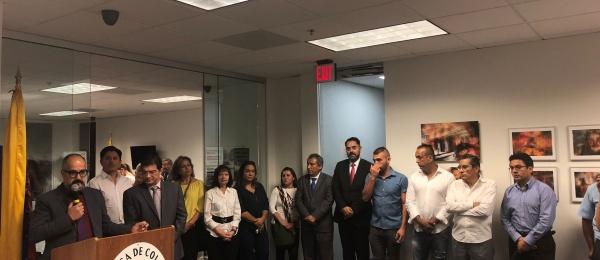 La arquitectura, con enfoque en fotografía comunitaria, se expone en la sede del Consulado de Colombia en Atlanta