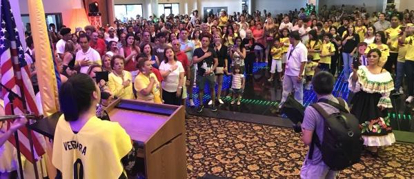 Colombianos en Atlanta celebraron el 20 de Julio, Día de la Independencia Nacional