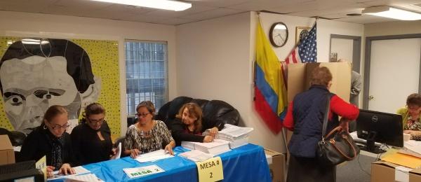 Consulado de Colombia en Atlanta inició jornada final del proceso electoral en el exterior para Congreso y consultas interpartidistas 2018