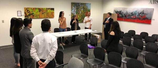Con total normalidad inició la jornada electoral de votación en el Consulado de Colombia