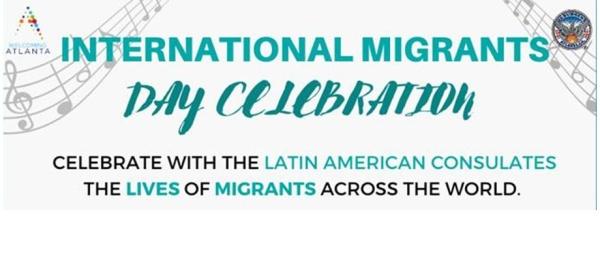 Consulado de Colombia en Atlanta invita a conmemorar el Día del Migrante Internacional